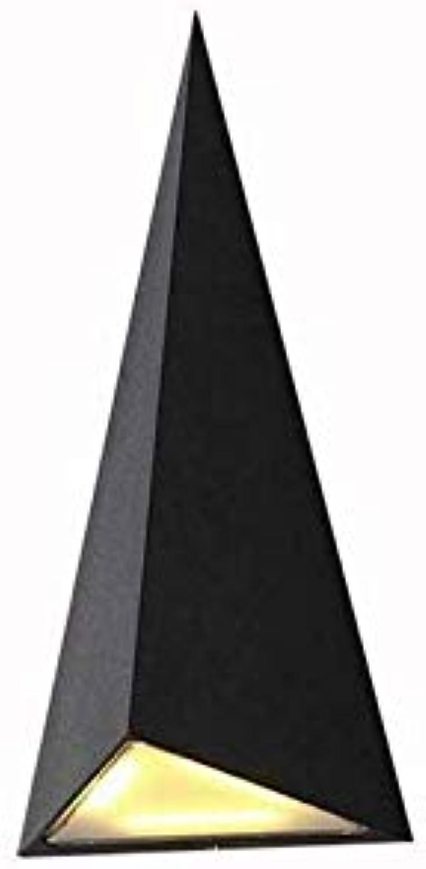 Kronleuchter Lightwaterproof Wall Lamp Aluminium Dreieckige Wandleuchten Hofleuchten
