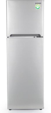 Daewoo HOGDAE25210G Refrigerador, 9 Pies, Silver, color, Silver, pack of/paquete de 1