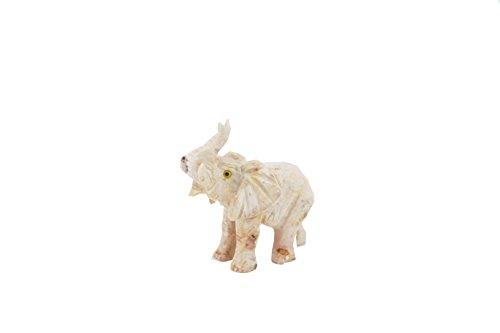 Deutsches Mineralienmuseum Speckstein Elefant, Glücksbringer, Geschenk aus Stein