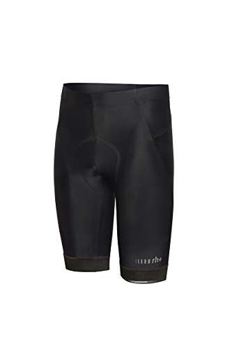 Zero RH+ Prime, Bibshort Bike Uomo, Black/Reflex, XL