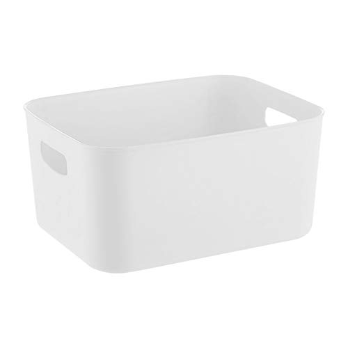 donfhfey827 Caja de Almacenamiento de Acabado doméstico Caja de Almacenamiento de plástico Armario Armario de Escritorio