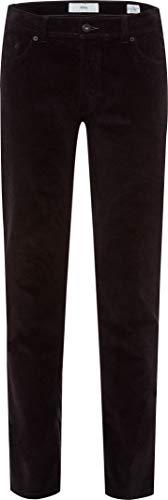 BRAX Herren Style Cooper Fancy Five-Pocket Cord-Qualität Hose, Black, 34/36