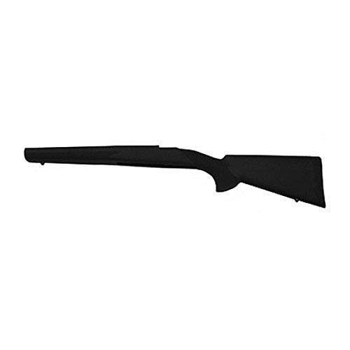 Hogue 98000 Rubber OverMolded Stock for Mauser 98, Military/Sporter, Black, one Size
