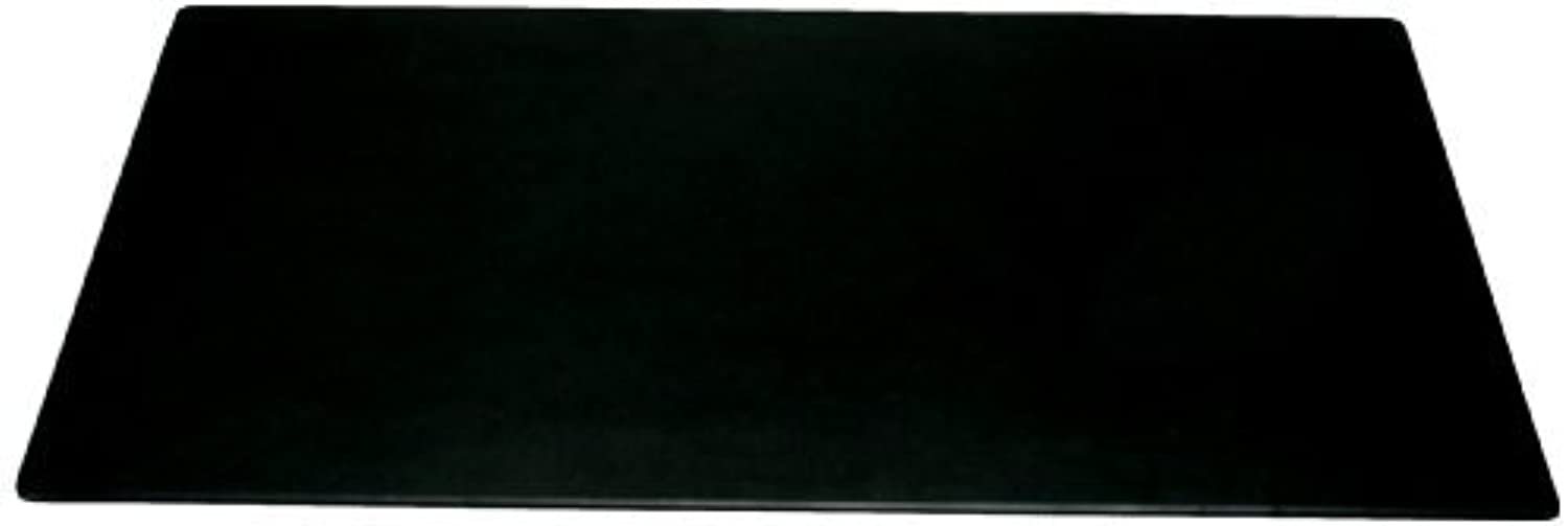Dacasso Black Leather Desk Mat, 30Inch by 19Inch by Dacasso