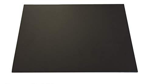 4,0 mm plaat van hard PVC zwart ca. 495 x 495 mm compact pvc.