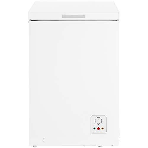 HISENSE FC125D4AW1 Gefrierschrank mit Brunnen, 95 l, Energieeffizienzklasse F, Maße (B x T x H): 54,6 x 47,9 x 85,4 cm, Farbe Weiß