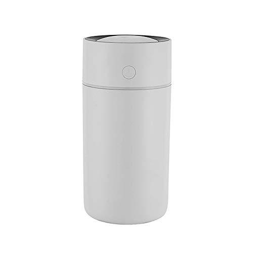 Humidificador de niebla mini USB portátil, humidificador de aire con niebla fresca para oficina de viaje en coche, casa de habitación de bebé (320 ml)
