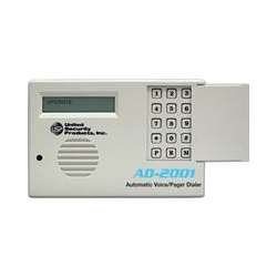 United Security Products AD2001 USP US USP Automatic Voice Dialer, 2 Messages