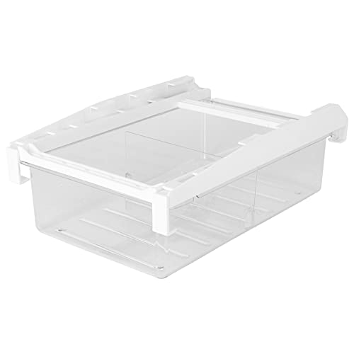 Solustre Organizador de cajones de nevera Caja de almacenamiento de cocina Caja de almacenamiento de estante de refrigerador para cocina casera