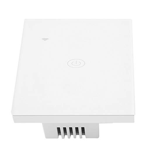 Interruttore intelligente senza fili, PC Funzionale Stabile Smart WiFi Switch, Ad alte prestazioni ampiamente usato per Soggiorno Bagno