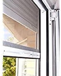 Kit de alta calidad de mosquitera enrollable de aluminio para ventana de 170 x 120 cm. color blanco RAL 9010: Amazon.es: Bricolaje y herramientas