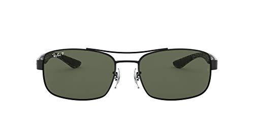 Ray-Ban 0Rb8316 Gafas de sol, Black, 62 Unisex-Adulto