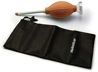 Zeeion FlexoNozzle Sensor Cleaning Anti-Static Bulb Blower for Digital Camera - Orange Body