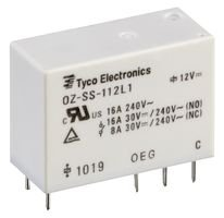 3A 12VDC DPST-NO PCB TE CONNECTIVITY // OEG   OSA-SS-212DM3,000   RELAY