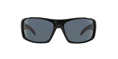 ARNETTE La Pistola gafas de sol, Black, 55 mm para Hombre