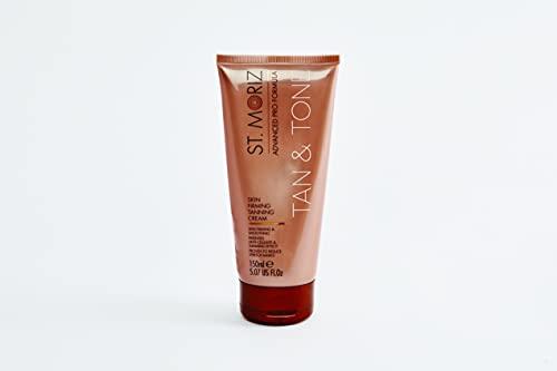 ST. MORIZ Crema bronceadora reafirmante de piel avanzada
