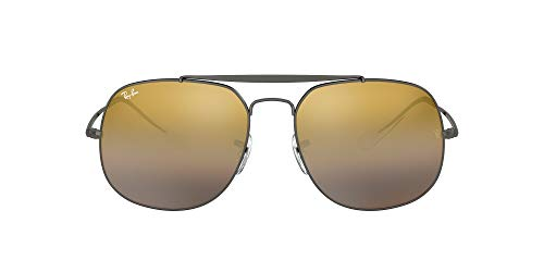 Ray-Ban 0RB3561, Gafas de Sol para Hombre, Marrón (Brown Gradient Mirror), 57