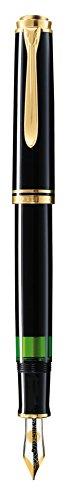 Pelikan M 400 Penna stilografica Souveraen 400 pennino F in oro bicolore