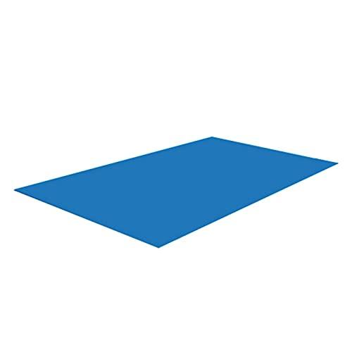 Tapis de piscine rectangle, tissu de terre pour piscines hors sol, tapis de piscine carrée, protecteur de tapis de spa paresseux sous protection de sol de piscine (500 * 300CM)