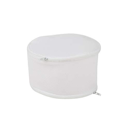 Honey-Can-Do 2-Sided Bra Wash Bag LBG-01147 Strapless Bra , White , Large