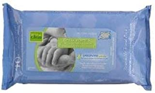 Nice'n Clean Baby Wipe, Soft Pack Aloe Unscented, Q70040 - Case of 480