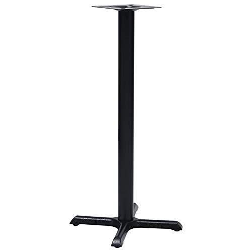 Tidyard Bistrotisch-Gestell Tischfuß Tischbein Untergestell Bistrotisch Tisch Tischgestell Stehtischgestell Tischsäule Bistrotisch-Bein 56 x 56 x 107 cm (L x B x H),Gusseisen
