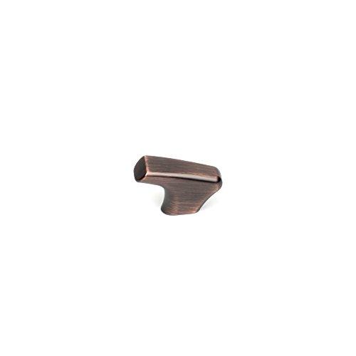 Century Hardware 27909AZC Sierra J Shaped Knob 15/8quot Antique Bronze/Copper