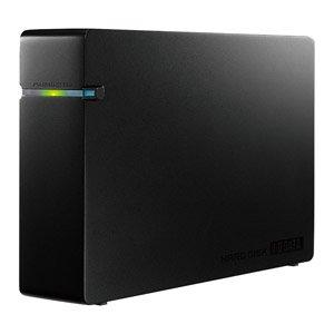 I-O DATA テレビ録画対応 USB 2.0/1.1接続 外付型ハードディスク ブラック 1.0TB HDCA-U1.0CKB