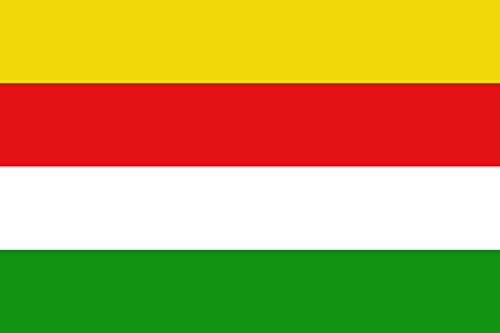 magFlags Flagge: XL Belgischen Gemeinde Maaseik | Querformat Fahne | 2.16m² | 120x180cm » Fahne 100% Made in Germany