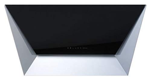Falmec Dunstabzugshaube Design Prisma Wandhaube 115 cm Glas Schwarz