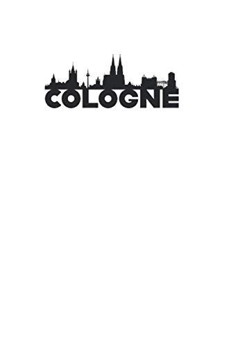 Cologne: Liniertes Stadt Notizbuch oder Reise Notizheft liniert - Reisen Journal für Männer und Frauen mit Linien
