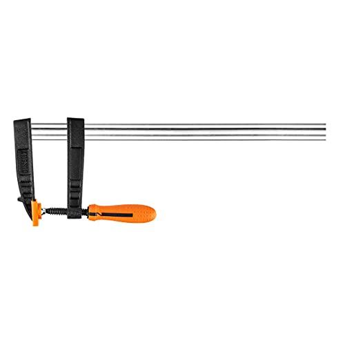 Neo Tools Sargento (120 x 500 mm, máx. fuerza de sujeción hasta 200 kg, acero, capa antideslizante, revestimiento de plástico, 2 componentes)