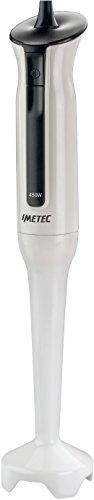 Imetec HB3 Frullatore a Immersione, Gambo Extra Large Estraibile, Lame in Acciaio Inox, Funzionamento a Impulsi, 450 W