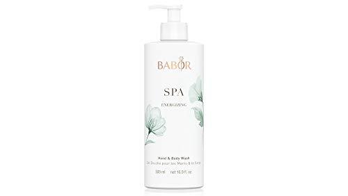 BABOR SPA Energizing Hand & Body Wash, erfrischendes Hand- und Körperwaschgel, für ein angenehmes Frischegefühl, 1 x 500 ml