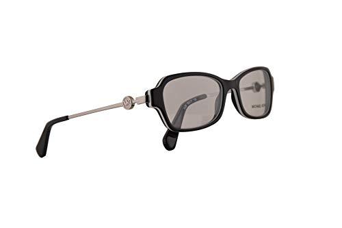 Michael Kors MK8023 Brille 52-17-135 Schwarz Weiss Mit Demonstrationsgläsern 3129 MK 8023