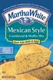 Martha White Mexican Style Cornbread, 6-Ounce (Pack of 12)