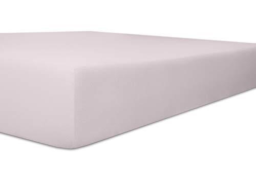 Kneer Qualität 93 Exclusive-Stretch Spannbetttuch, 120x200-130x220, 30 Lavendel