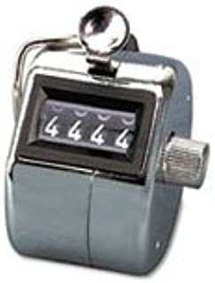 ** Tally I Hand Model Tally Counter, Registers 0-9999, Chrome