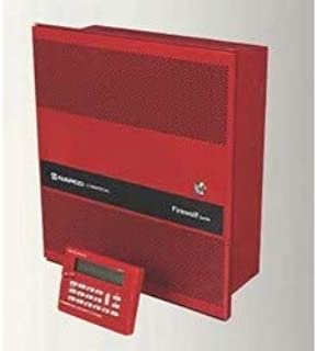NAPCO, GEMC-FW-32CNVKT, Zone Conventional Commercial Fire Alarm Panel Kit, 24 Volt Panel, 32-Point, 2 NAC Circuit with 4A, Red Enclosure, Built-in Horn/Strobe Synch, Dual DACT, 2-Serial Port