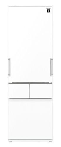 シャープ 冷蔵庫 スリムメガフリーザー プラズマクラスター搭載 415L ピュアホワイト SJ-GT42C-W