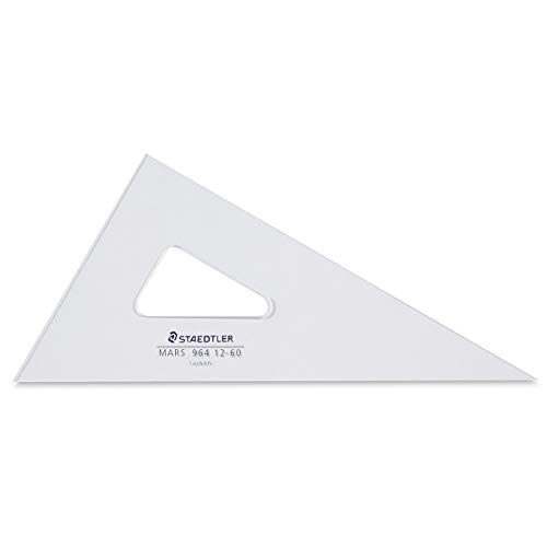 Mars Clear Triangle 12-Inch 30°/60°