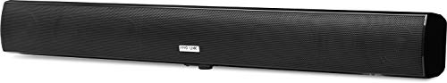 Vivolink Active Soundbar Black 2x15W with Standby Function, VLSPSB100 (2x15W with Standby Function Including Wall Mount +...