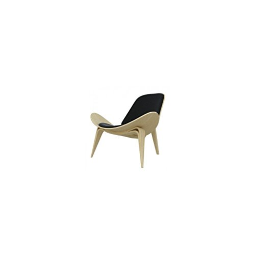 mueblespacio Réplica Wegner Chair CH07 Roble - MSD152401219 - Negro