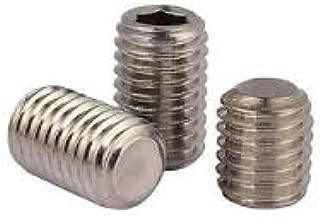 - Grub-Blind-Allen-Headless Screw Quantity: 100 Set Screws Square Head Case Hardened 5//16-18 x 5//8 Alloy Steel Thermal Black Oxide