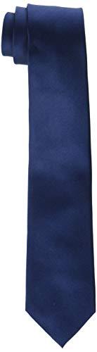 Daniel Hechter Herren TIE 7 CM Krawatte, Blau (Navy 680), 1
