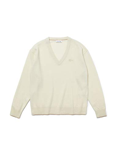 Lacoste Damen AF2405 Unterhemd, Farine, 46 Regular