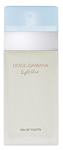 D&G Dolce & Gabbana Light Blue, Agua De Tocador Para Mujeres, color Edt Spray, 50 ml
