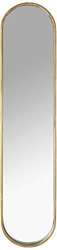 Amazon Brand - Rivet Modern Oval Hanging Mirror for Bathroom