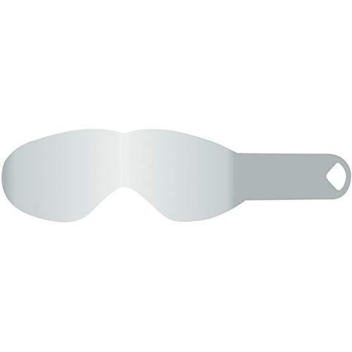 Dragon NFXs Pack de 20 Tear Off pour Masque de Sport Homme, Transparent, Taille S