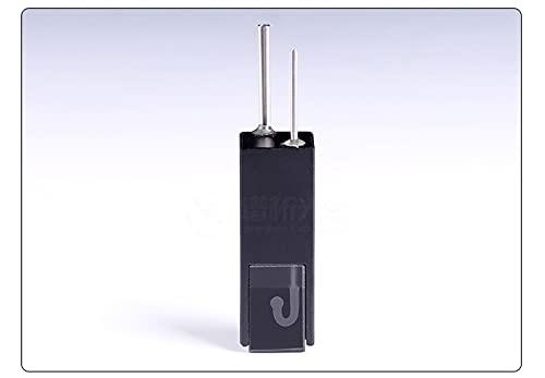 Xue Mei Zi Capacidad de Flujo de Cuarzo Capacidad de la cubeta 32 UL Ruta óptica de 10 mm Resistencia de Temperatura 100 ° C 100 ° C Dimensiones 12.5x12. 5x35 mm (Size : 2PC)